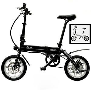 """eelo 1885 Pro 14"""" Vélo électrique Pliable - Jantes en Alliage, Facile à Ranger"""
