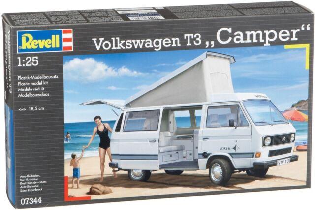"""Revell - Volkswagen T3 """"Camper"""" 1:25 - Model Kit - 07344"""