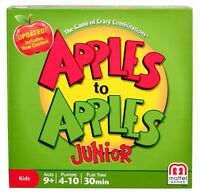 Mattel Apples To Apples Junior The Game Of Crazy Combinations Sealed