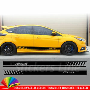 Fasce-adesive-Ford-FOCUS-strisce-fiancate-adesivi-laterali-RS-ST-Line-Sport