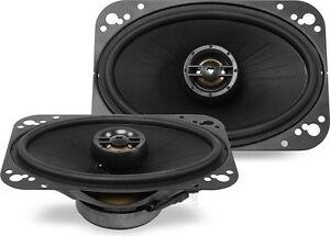 "Polk Audio DXi461 80W RMS 4"" x 6"" DXi Series 2-Way Coaxial Car Stereo Speakers"