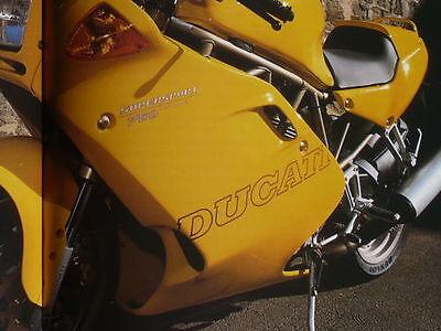 """Ducati Supersport 600 750 900 Superlight '97 Aufkleber """"Ducati""""  fairing decals"""