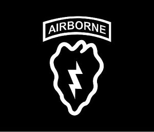25th infantry division patch vinyl decal car window bumper for 101st airborne window decals