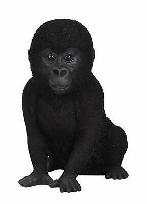 Vivid Arts Real Life Baby Gorilla Garden//Home Decoration Ornament Gift