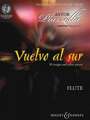 Wind & Woodwinds Vuelvo Al Sur 10 Tangos And Other Pieces For Flute & Piano Chamber Mus 048019804 Diversified Latest Designs Instruction Books, Cds & Video