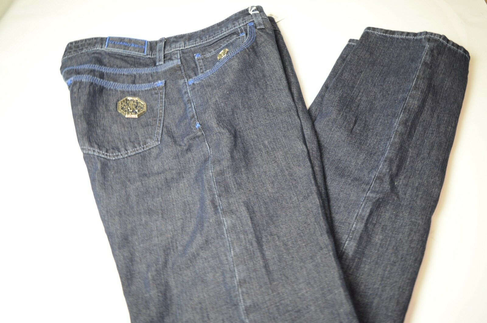 NEW STEFANO RICCI  Luxury Jeans  Size 33 Us 49 Eu  Made in ITALY (78A)