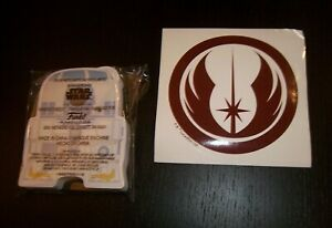 STAR WARS SMUGGLERS BOUNTY - DAGOBAH BOX STICKY NOTES & DECAL FUNKO SEALED