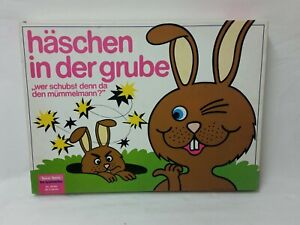 Rabbit-in-the-Grube-Spear-spiele-Large-Seltene-Old-Edition