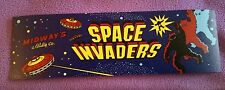 Space Invaders arcade marquee sticker (Buy any 3 of my stickers, GET ONE FREE!)