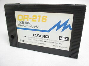 MSX-16KB-EXPANSION-RAM-OR-216-Cartridge-only-Japan-Video-Game-msx