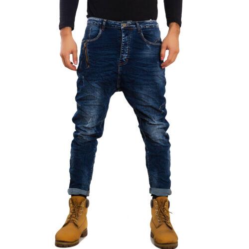 Jeans uomo pantaloni cavallo basso harem denim casual TOOCOOL vari modelli GEN-1