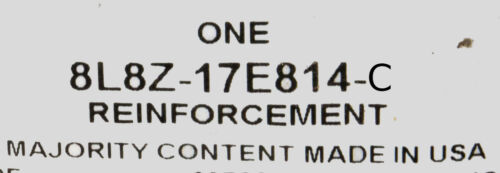 OEM NEW 2008-2012 Ford Escape Rear Bumper Side Reinforcement RH Passenger Side