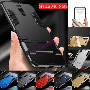Pour-Meizu-M5-M6-Note-M3S-MX6-MX5-360-Hybride-Armure-Etui-Robuste-Bequille