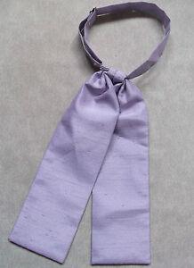 Brillant Mariage Cravate Garçons Pré Noué Ajustable Officiel Âge 4 - 12 Lilas Violet Pâle-afficher Le Titre D'origine Distinctive Pour Ses PropriéTéS Traditionnelles