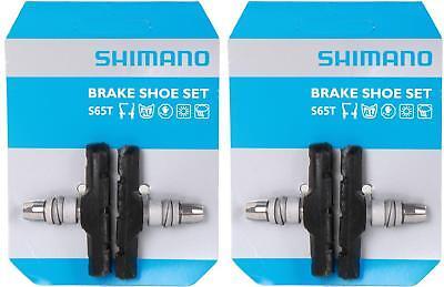 2x Sets Shimano M70R2 MTB V-Brake Pads Inserts Rubber XT XTR Y8AA98200