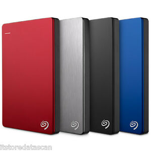 Seagate 1TB Backup Plus Slim Portable External Hard Disk (STDR1000200)