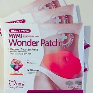 5 Patches in Retail box MYMI Korea Wonder Patch Burn Belly ...