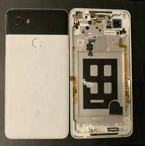 Genuine-Google-Pixel-XL-2-6-0-034-Arriere-Couvercle-Arriere-De-Batterie-Coque-chasi-Finger-Print