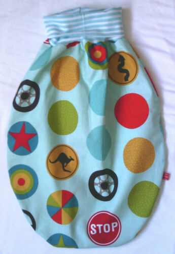 Babyschlafsack Puckschlafsack Baby-Schlafsack Baumwolle mit dehnbarem Bund f/&f