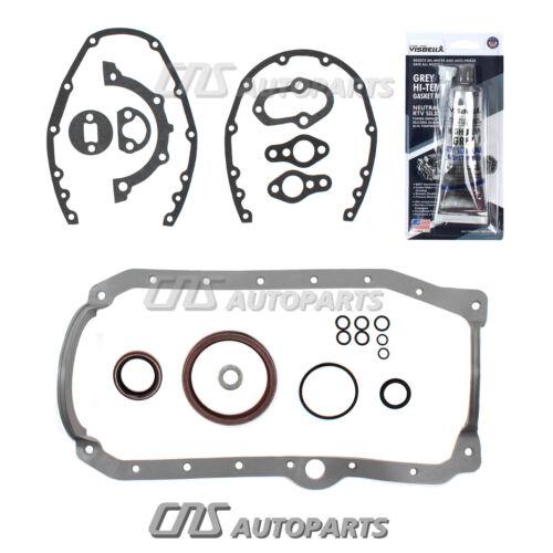 Fits 87-96 GMC Chevrolet Astro Oldsmobile 4.3L OHV 12v VORTEC Lower Gasket Set