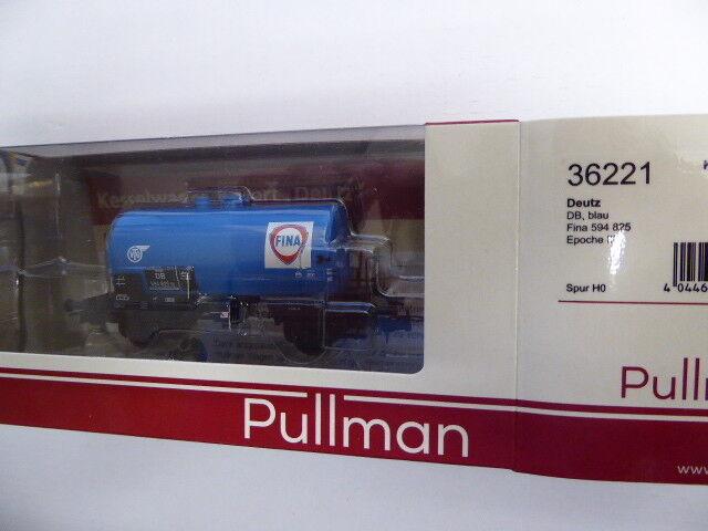 Esu-Pullmann 36221 Kesselwagen, H0, Deutz, Fina 594 825, blau, DB Ep III, DC,Neu  | Hat einen langen Ruf