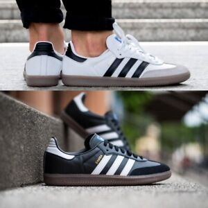 adidas-Originals-Samba-Sneakers-Men-039-s-Lifestyle-Comfy-Shoes