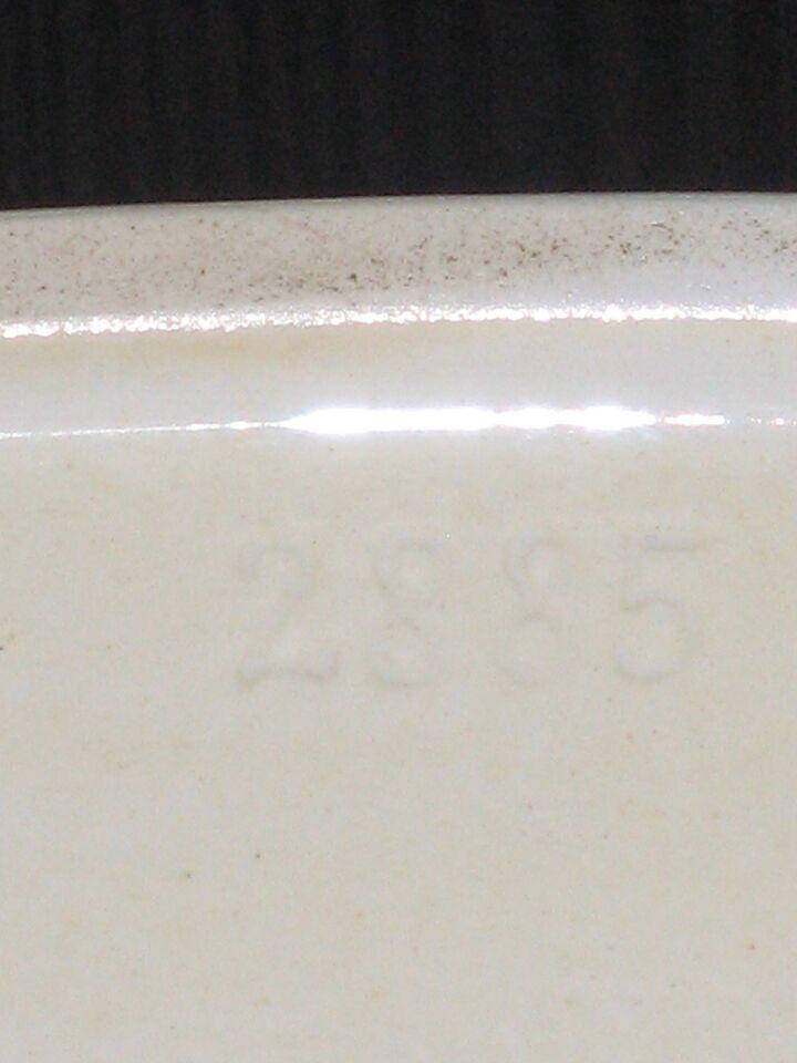 Fajance, Tenera fad, Aluminia 144 / 2885
