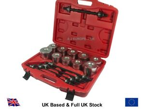 Universal-Press-Pull-Sleeve-Bush-Bearing-Removal-Silent-Bearing-Set-27-Pc