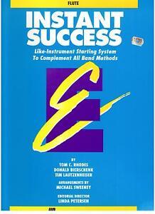 INSTANT-SUCCESS-FLUTE-Essential-Elements-Series-NEW-FLUTE-MUSIC-BOOK