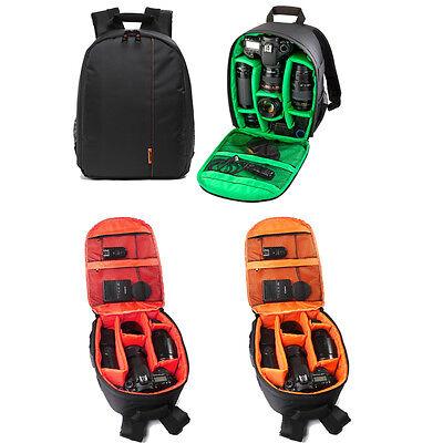Waterproof Backpack Travel Camera Case Rugsack Bag For Sony Nikon Canon DSLR SLR