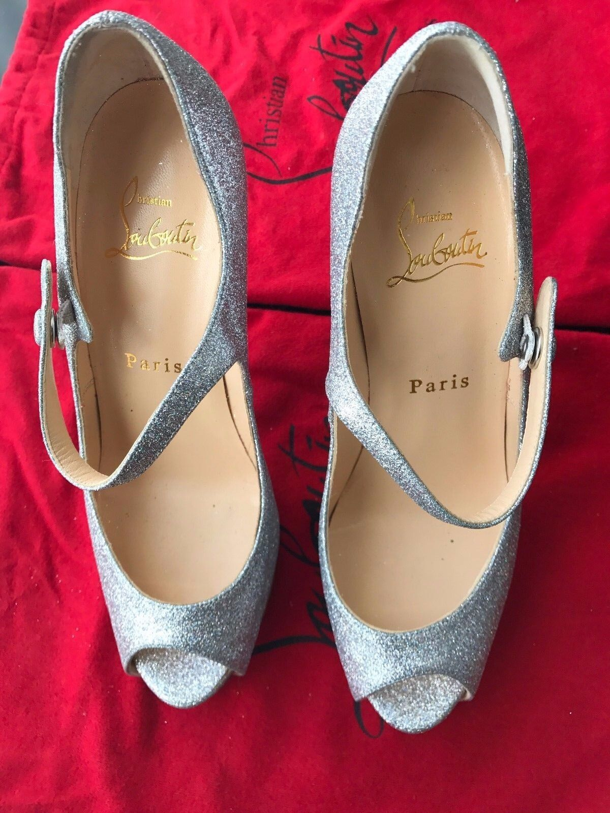 Christian Louboutin Louboutin Louboutin Jane Vendome 120 size 36 Brand New    Perfect wedding shoe a77c5a