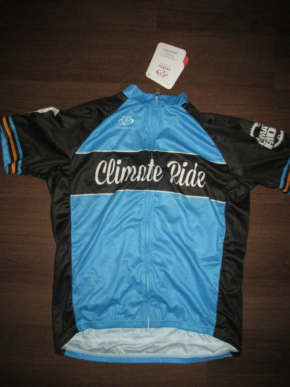 Primal Climate Ride California Full Zip Cycling Jersey Men's L NEW Z-16