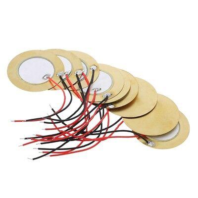 wire copper 15mm 20PCS 15mm Piezo Elements Sounder Sensor Trigger Drum Disc