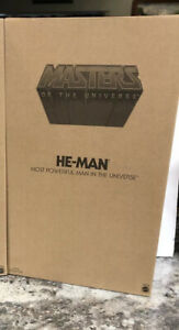 "Rare Mattel MOTU 12"" GIANT HE-MAN& Skeletor Set NEW IN SEALED MAILER BOX!"