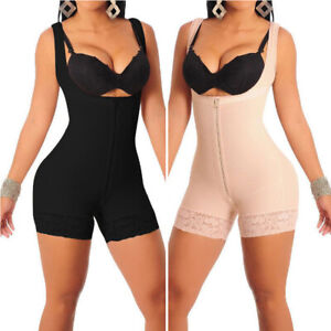 Fajas-Colombianas-Body-Shaper-Reductoras-Levanta-Cola-Post-Salome-Surgery-Girdle