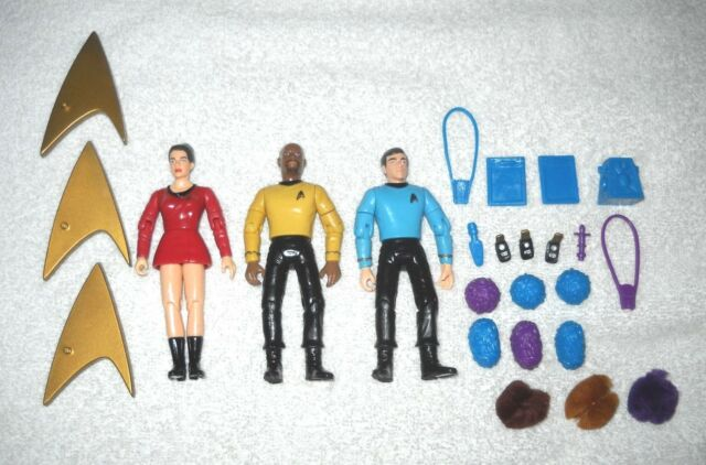 Sisko & Dax & Bashir (vintage uniforms) - Star Trek Deep Space Nine - 100%