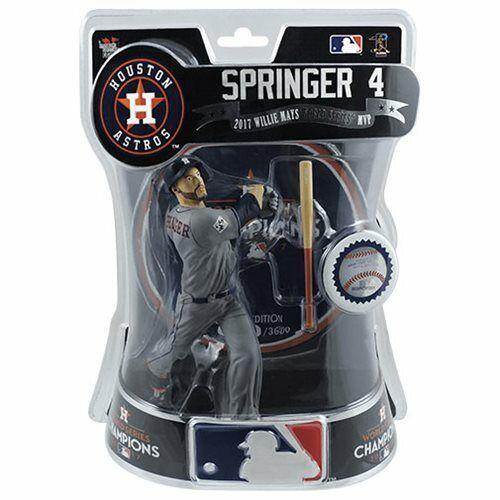 "George Springer Houston Astros 2017 World Series Champs LE MLB 6/"" Figure #//3600"