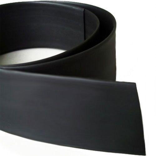 Φ120mm Soft Heat Shrink Tubing Fire Resistant Shrinkable Ratio 2:1 Black x 1 M