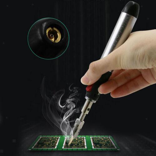 3 in 1 Auto Ignition Butane Gas Soldering Iron Self Ignite Welding Torch Pen