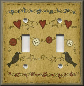 Light Switch Plate Cover Country Decor Primitive