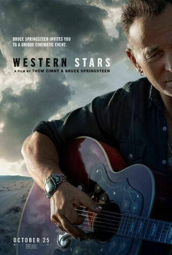 Western Stars Bruce Springsteen Poster Thom Zimy Movie Music Film 42x61 60x88cm