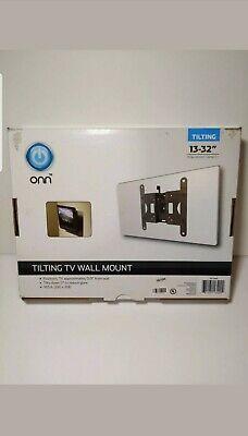 "Onn ONNST1 ONA16TM008 Wall Mount Tilting for flat TV/'s 13/"" 32"" up to 25 lb"