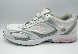 New Balance Women's 558 White Gray Pink