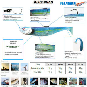 FLASHMER-BLUE-SHAD-Un-shad-souple-anti-accroche-aromatise-monte-en-texan