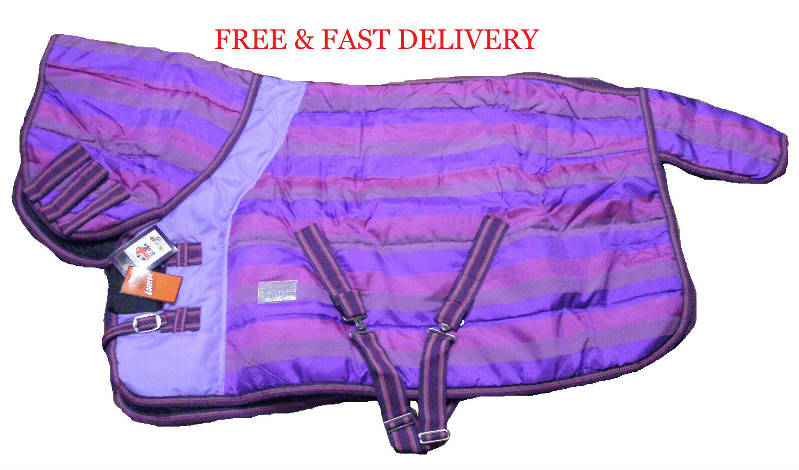 Loveson Candy Stripe 400g Pony Combo Stable Rug 400g Stripe Heavy Weight 7ce6c6