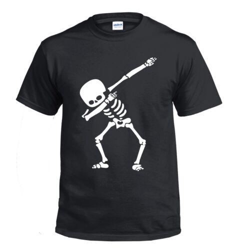 Bambini Bimbi inseritrice Scheletro DAB T Shirt 5-13 ANNI COOL