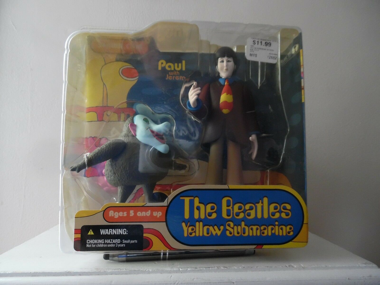 BEATLES - YELLOW SUBMARINE - SPAWN.COM TOY - - - NEW IN BOX -  SEALED  -  PAUL  06f414