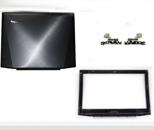 Lenovo Y50-70 Lcd Back Cover Top Lid /& Bezel /& Hinges Non-touch AM14R000400