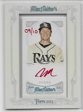 2013 13 TOPPS ALLEN & GINTER WIL MYERS ROOKIE RED INK SUPER RARE SP AUTO 9/10