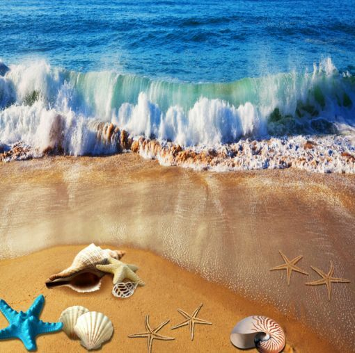 3D Schöne Strände Wellen 0 Fototapeten Wandbild Fototapete BildTapete BildTapete BildTapete Familie DE c1c8ae